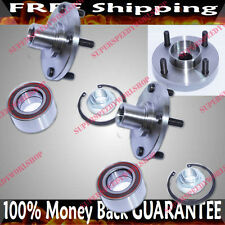 1 PAIR FRONT Wheel Hub Bearing for 00-04 Ford Focus ZX3 Hatchback 3D 2.0L DOHC