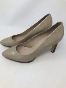 610d74ee3 Franco Sarto Women Shoes Size 11M Cream Leather Heel Pumps Platform ...