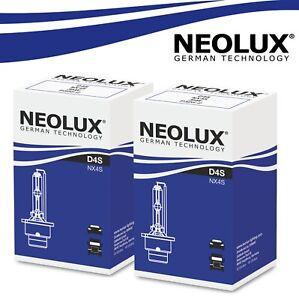 2x-NEOLUX-D4S-XENON-Brenner-Lampe-Scheinwerfer-4300K-Weiss-Licht-Headlight-Bulbs