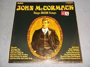 JOHN-MCCORMACK-SINGS-IRISH-SONGS-VINYL-LP-RECORD-1969-RCA-CAMDEN-CMD-1024-NICE