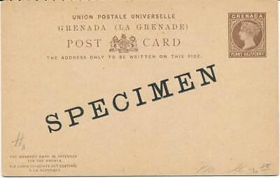 Grenada F/a Ganzsache Mit Specimen Aufdruck Angenehm Bis Zum Gaumen Briefmarken Fein 602603 Sonstige