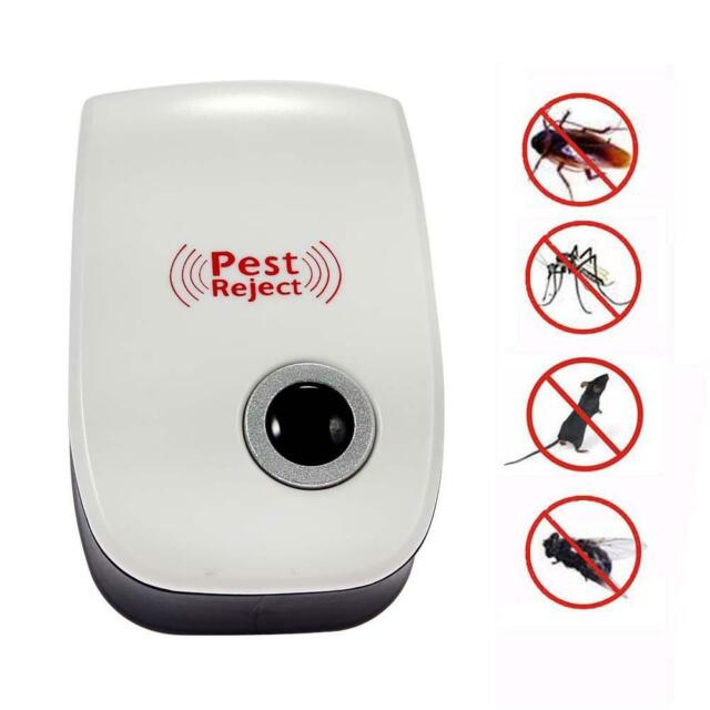 Ultrasonic Electronic Indoor Anti Mosquito Rat Mice Pest Bug Control Repeller SA