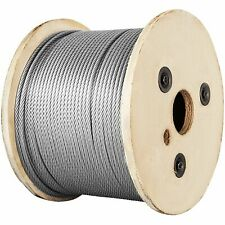 100m 150m 300m Lifting Cable 1x19 Construction Clothesline 32mm Stainless Steel