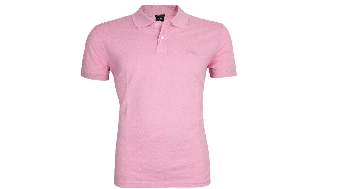 Hugo Boss Poloshirt Firenze Logo pastelpink XL Baumwolle Regular Fit Neu