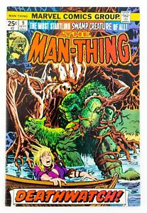 Man-Thing-9-1974-Marvel-Comics-Bronze-Age-Mike-Ploog-Cover-amp-Art-VF