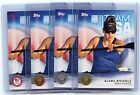 4 Card Lot 2016 Topps Olympic #68 Alana Nichols Base,Bronze,Silver,Gold!!! (QTY)