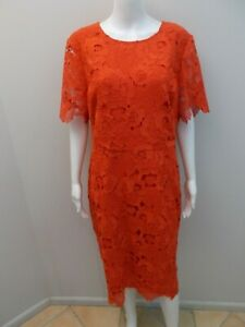 AS-NEW-DAVID-LAWRENCE-RED-OCCASIONS-DRESS-SIZE-16-U1023