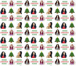 personalised christmas gift wrap little mix style wrapping paper ebay