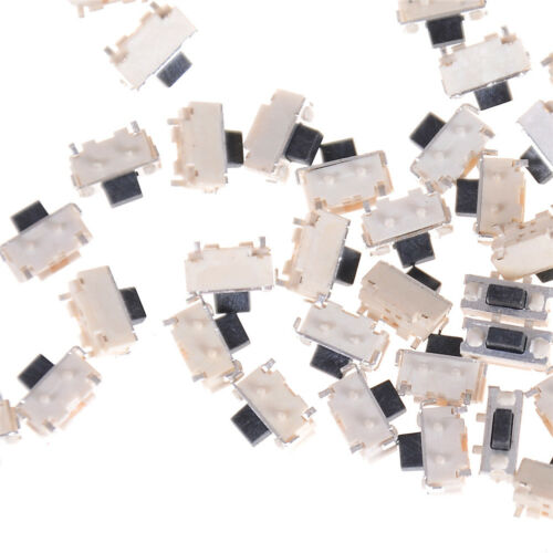 50Pcs Momentary Tactile Tact Push Button Switch Surface Mount SMD 2x4x3.5MM