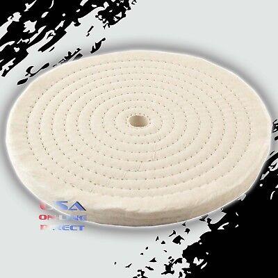 Combo Spirale Cousu Stitch Coton Polissage Roues Métal Polissage Chamois Pad Bijoux