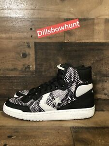 Details about Converse Fastbreak Hi Shoes Snakeskin Mens SZ 7.5 Sneakers Black White Womens 9