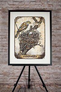 Soundgarden-Limited-edition-Concert-Poster-Framed