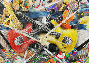 A1-Grunge-Guitar-Poster-Print-A1-Size-60-x-90cm-Musician-Art-Decor-Gift-14787