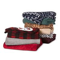 Electric Microplush Throws - Biddeford