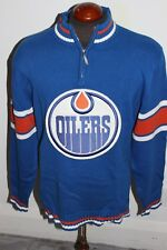 new product bbbd8 f256a item 3 PRE-OWNED MENS NHL EDMONTON OILERS SWEATER LARGE STITCHED LOGO  COTTON -PRE-OWNED MENS NHL EDMONTON OILERS SWEATER LARGE STITCHED LOGO  COTTON