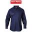 Mens-Hard-Yakka-Long-Sleeve-Cotton-Drill-Work-Shirt-Tradie-Safety-Button-Y07500 thumbnail 1