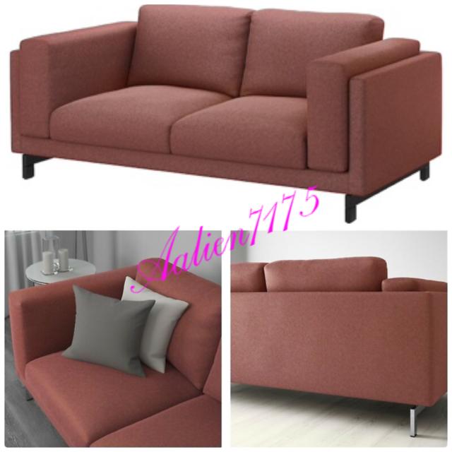 Peachy Ikea Nockeby Loveseat Slipcover Seat Cover Tallmyra Rust Red 403 198 50 Inzonedesignstudio Interior Chair Design Inzonedesignstudiocom