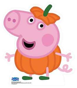 George Pig From Peppa Pig Halloween Cardboard Cutout Standee