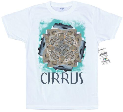 Cirrus Artwork T-Shirt Bonobo Inspired