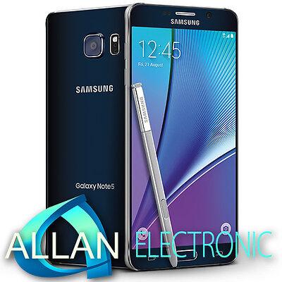 Neuf Samsung Galaxy Note 5 N920CD Dual SIM LTE 32GB Unlocked - Black Noir