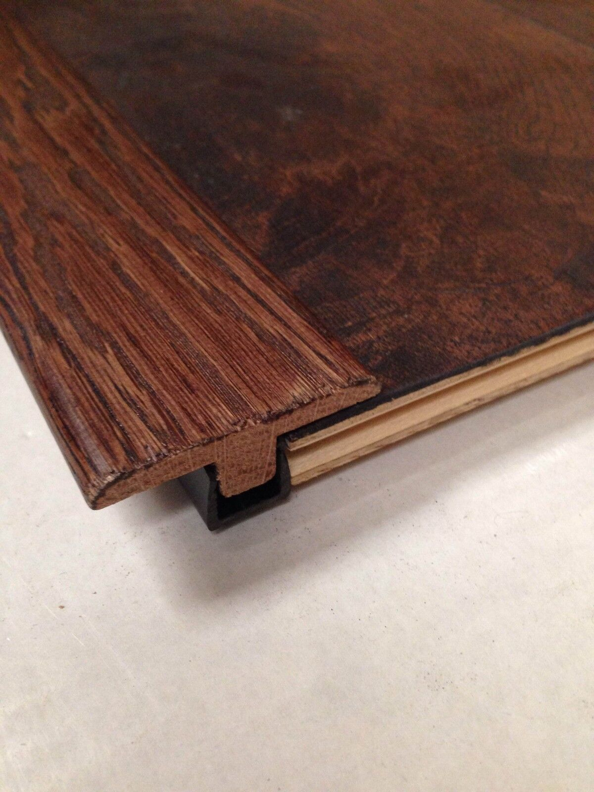 Real Solid T Section For Wood Floors Threshold Door Bar