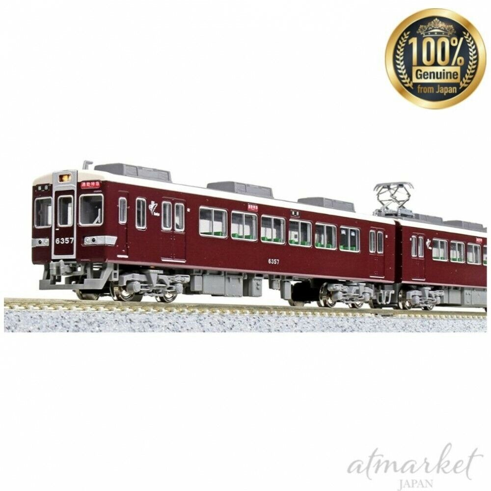 KATO N gauge Hankyu Series 6300 10-1436 8-car set There is a small window train