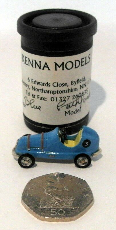 Kenna Models 1 43 Scale KM20 - Pathfinder Pedal Car - bluee