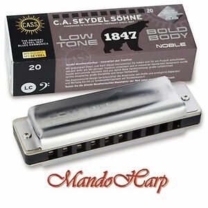 Seydel-Harmonica-16501Low-1847-Noble-Low-SELECT-KEY-NEW
