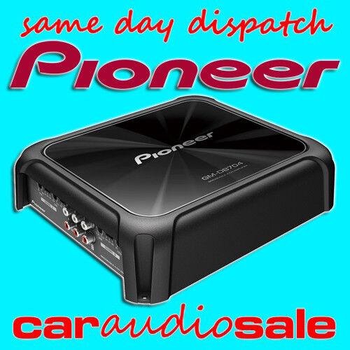 Pioneer GM-D8704 CLASE FD 1200 vatios 4//3//2 canales puenteable amplificador de potencia