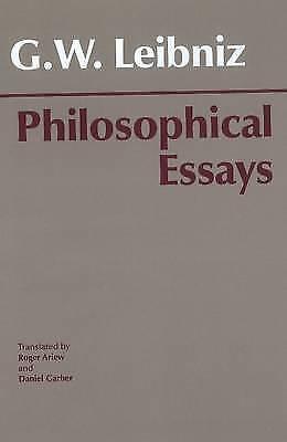 1 of 1 - GW Leibniz: Philosophical Essays -PAPERBACK