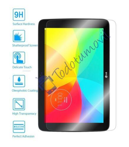 Protector de Pantalla Cristal Templado Vidrio 9H Premium para LG G PAD 10.1 v700