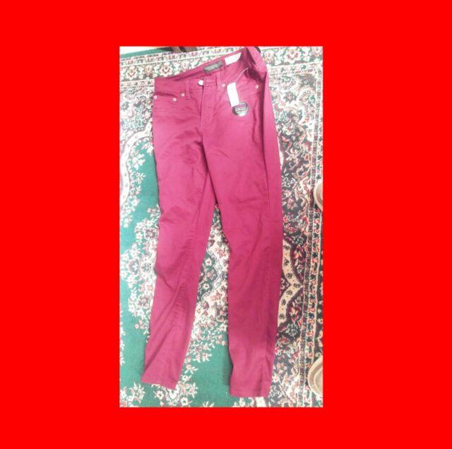 Nouveau Fille Pantalon AEROPOSTALE Jeggings Taille 4 regular ^ normal Magenta Jeggings Jeans