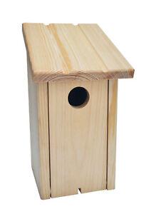 Cj Wildlife Build Your Own Bird Nest Box Kit Ebay