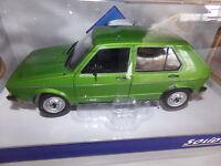 Voiture Miniature 1/18 Solido Volkswagen Golf L De 83 3 Couleurs Au Choix