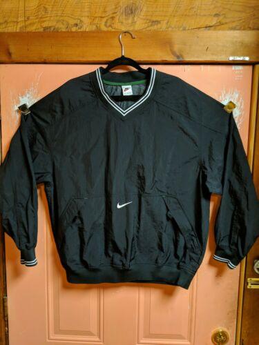 VTG Nike Swoosh Windbreaker Size XL white Tag Rare