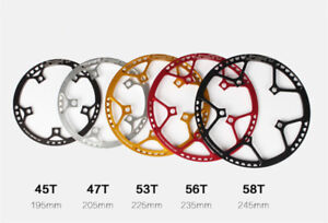 Round-Chainring-BCD-130mm-Chain-Ring-45-47-53-58T-for-Folding-Bike