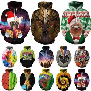 Men-Women-039-s-Hoodie-3D-Print-Sweater-Sweatshirt-Coat-Pullover-Jacket-Graphic-Tops