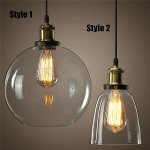 Image Is Loading Modern Vintage Ceiling Light Crystal Gl Pendant Chandelier