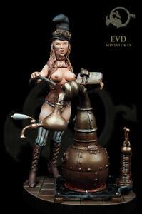 Steampunk-Alembic-Sorciere-75mm-1-Figurine-El-Viejo-Dragon-Miniaturas-Pin-Up