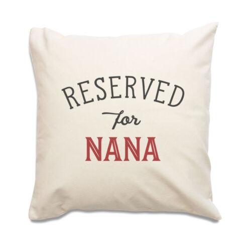 Nouveau-réservés pour Nana-TOP qualité Housse de Coussin-Cadeau Noël Anniversaire