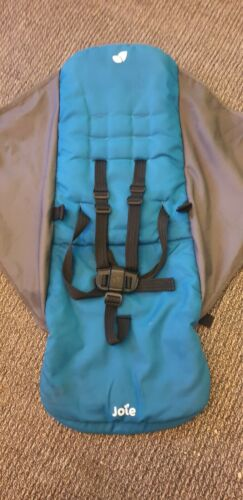 Joie Nitro Seat Fabric Spare Replacement teal blue and grey free post
