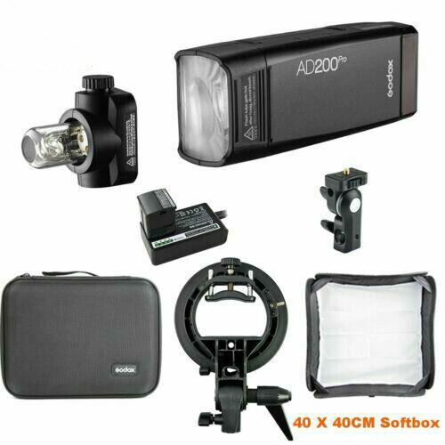 500 Full Power Flash with X2T-C TTL Flash Trigger for Canon Cameras Godox AD200Pro 200ws 2.4G TTL Flash Strobe 1//8000 HSS