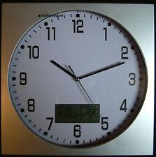 Wanduhr Küche Küchenuhr Uhr Wetterstation Temperatur Luftfeuchtigkeit,ovp.NEU!