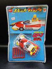 vintage POPY Japan SPIDERMAN GP-7 Leopardon diecast car Spider-Man chogokin toy