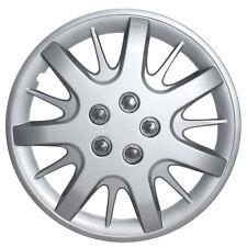 "1pc SILVER Steel Wheel Snap On 16"" Hub Caps 5 LUG A/M Skin Cover"