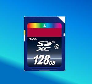 Tarjeta de memoria 128 GB para Nikon D3300 D5500 D5600 D7200 D750
