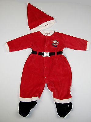 Little Me Baby Christmas Santa Outfit Size 9 Months