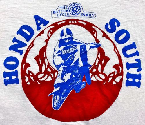 Vintage 70s HONDA MOTORCYCLES T Shirt Honda South