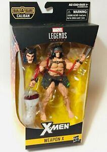 Marvel-Legends-X-MEN-WEAPON-X-6-034-Action-Figure-BAF-Caliban-80th-Ann-IN-STOCK