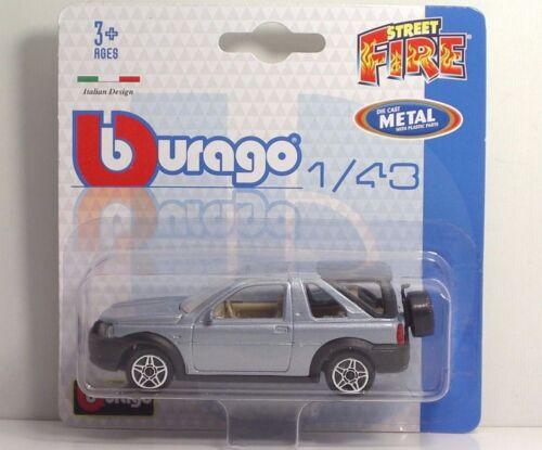 """Bburago 30001 Land Rover FREELANDER /""""Grey/"""" METAL Scala 1:43"""